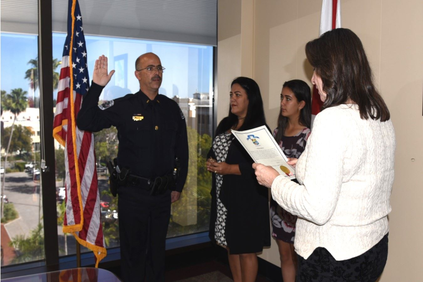 Lt. Ramos Swearing-in